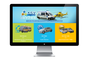 Agv-Ambulance • Site internet à Chantonnay 85110