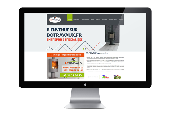 Botravaux.fr • Site internet Loge Fougereuse 85120
