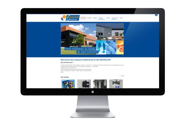 Couturier-geosolair.com - Création de site internet à Mouilleron-en-Pareds 85390