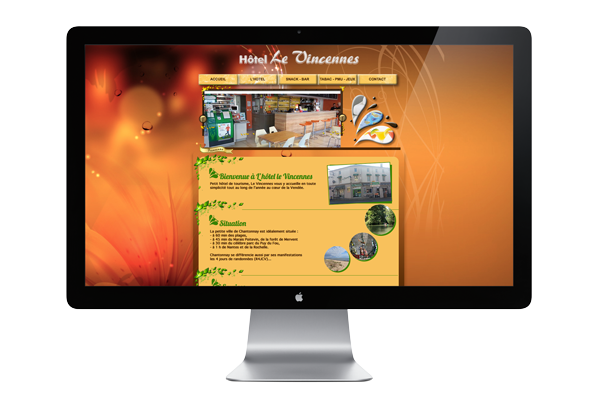 Site internet - Communication Chantonnay