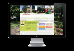 Site internet à La Châtaigneraie - Communication
