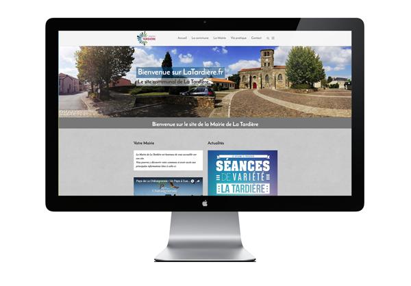 Site internet à La Tardière - Publicité