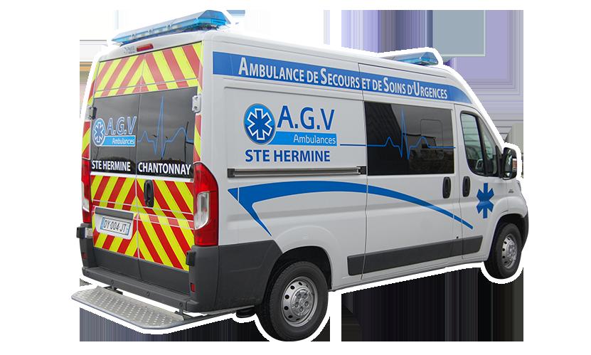 Décoration de Véhicule • Agv-ambulance