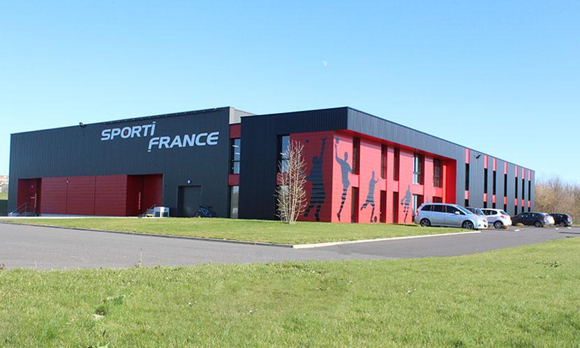 Décoration de Bâtiment • Sporti-France