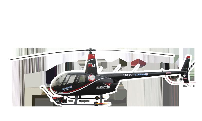 Décoration de Véhicule • Helicoptère E.Leclerc