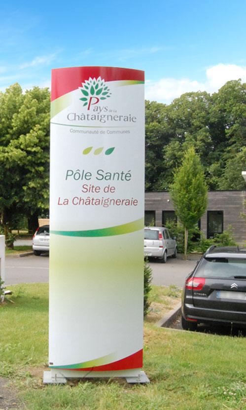Totem - Communauté de Commune de la Chataigneraie
